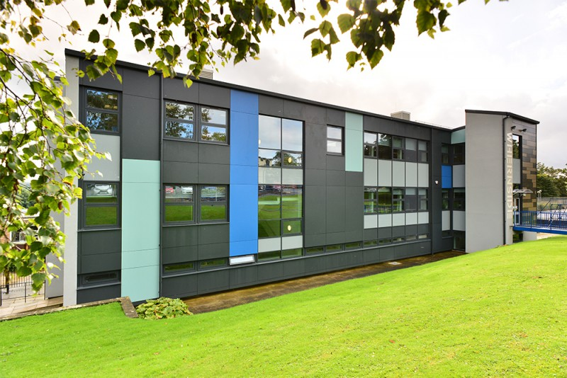 Watson Batty; Education; Skipton; Yorkshire; Construction; Architecture; College