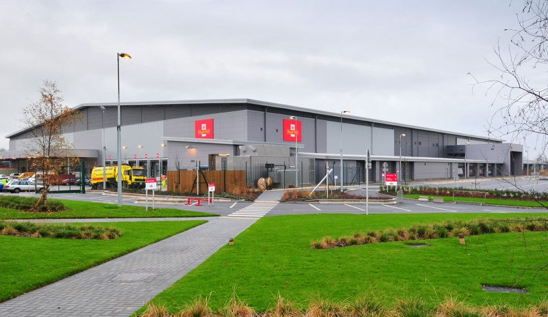 Watson Batty; Development; Industrial; Commercial; Retail; Royal Mail; Leeds; Loughborough; Construction; Architecture; Delivery Office