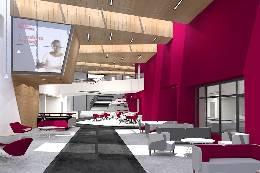 Modern College Classroom Designs ~ Watson batty hertha ayrton stem centre sheffield hallam