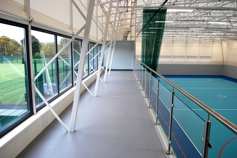 Watson Batty; Education; York; Construction; Architecture; University; Sports Campus; Gym; Fitness; Pitch; Sports