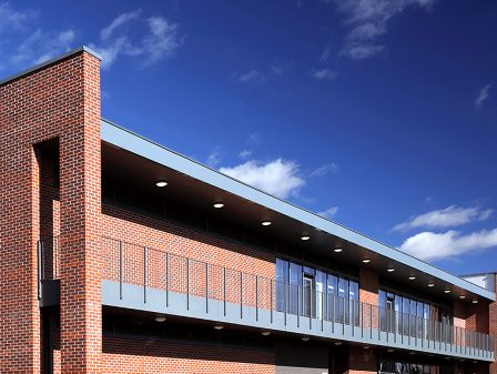 Watson Batty; Education; York; Construction; Architecture; University; Sports Campus; Gym; Fitness; Pitch; Sports; Loughborough