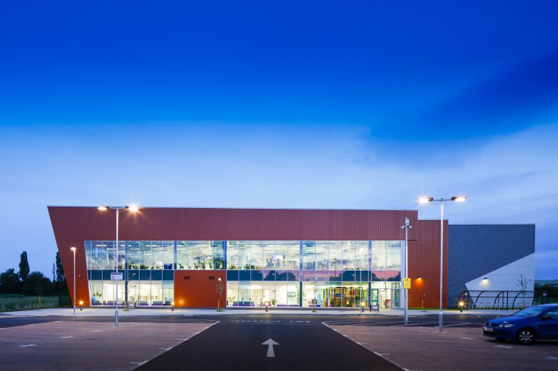 A £11m leisure centre for Newark