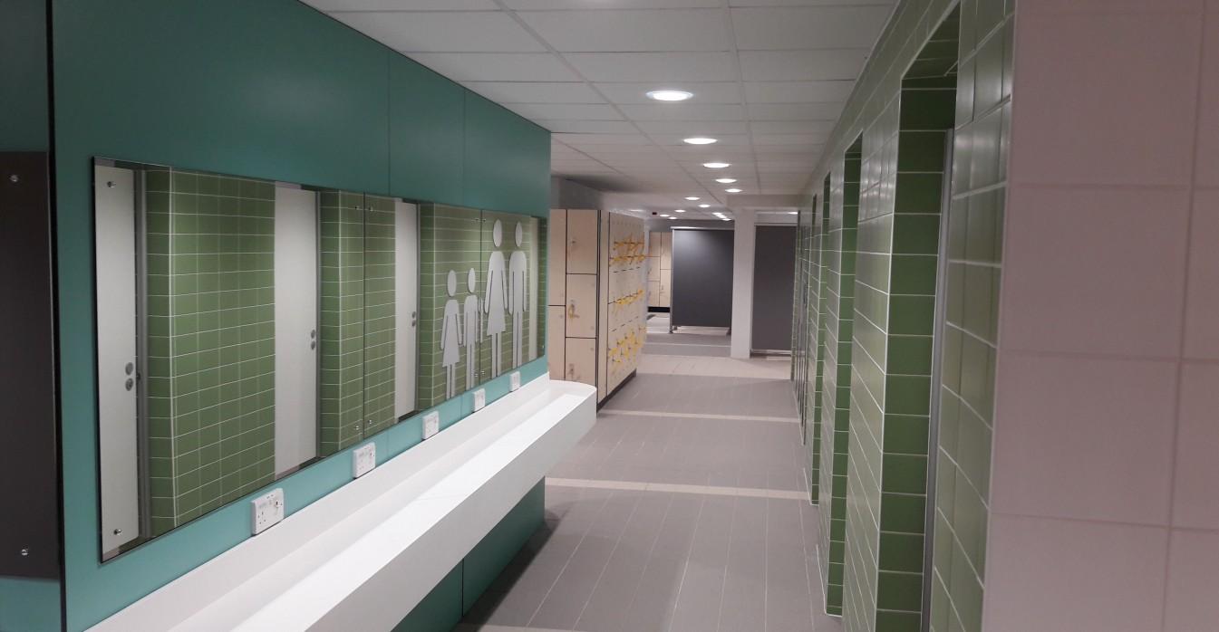 Watson batty walsall gala baths completed for I bathrooms walsall