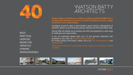 Watson Batty Architects; Leeds; Guiseley; Construction; Architecture; Yorkshire; Annual Autumn Reception, Celebrations, 40 Years, 40th