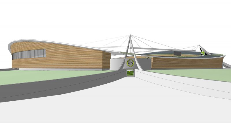 Watson Batty; Development; Sport; Leisure; Football; England; Stadium; Construction; Architecture; Competition; Gloucestershire