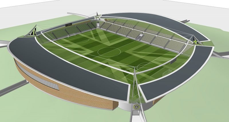 Watson Batty; Development; Sport; Leisure; Football; England; Stadium; Construction; Architecture; Competition; Gloucestershire