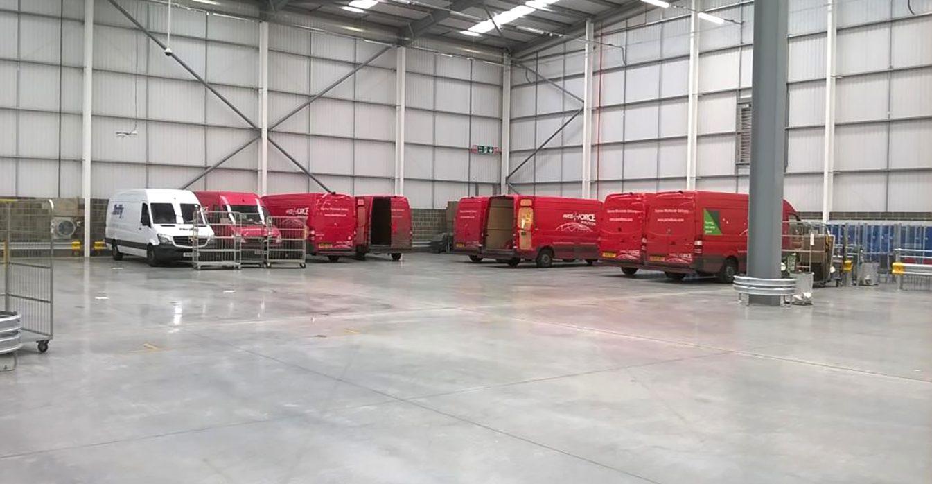Watson Batty; Leeds; Loughborough; Development; Industrial; Retail; Commercial; Construction; Architecture; Interior; Design; Welfare; Parcelforce; Royal Mail; London
