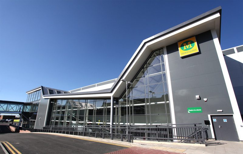 Watson Batty; Development; Yorkshire; Leeds; Loughborough; Morrisons; Retail; Construction, Architecture; Supermarket; Birtley