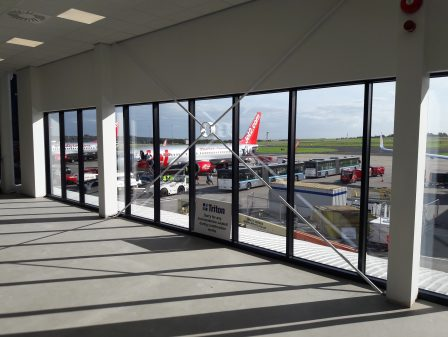 Leeds Bradford Airport,Departure, Lounge, Extension