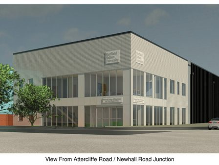 Watson Batty Architects; Leeds; Guiseley; Loughborough; Construction; Architecture; Yorkshire; Sheffield; Hallam; Education; Food Engineering; FutureBuilt; WBA