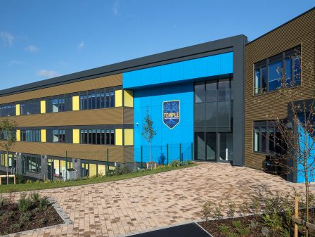 Watson Batty Architects; Leeds; Guiseley; Loughborough; Construction; Architecture; Yorkshire; ESFA; Temple Learning Academy; ISG; FutureBuilt; WBA; Awards