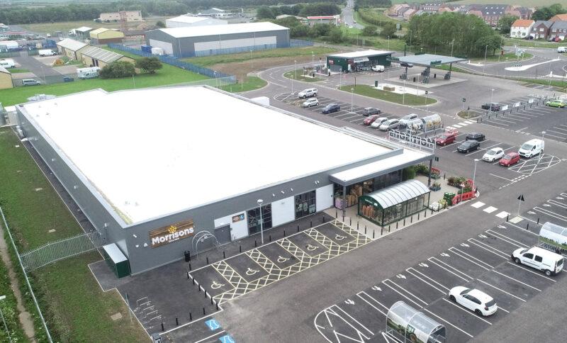 WBA; FutureBuilt; Commercial; Retail; Development; Amble; Leeds; Northumberland