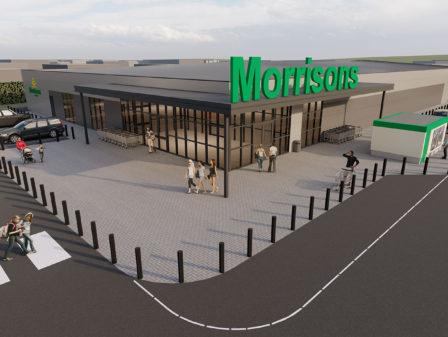 WBA; FutureBuilt; Retail; Morrisons; Architect; Design; Amble; Leeds; Northumberland