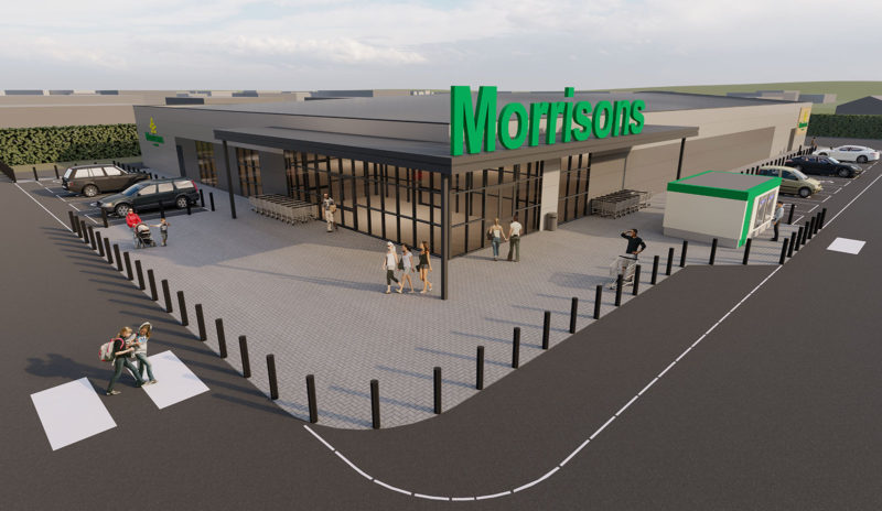 WBA; FutureBuilt; Retail; Morrisons; Architect; Design; Amble; Leeds; Northumberland