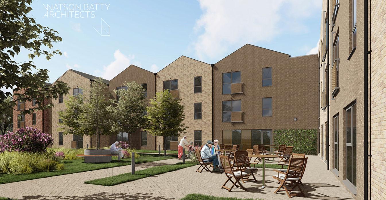 Watson Batty Architects; Future Built; Leeds; Guiseley; Loughborough; Development; Architecture; Living; Winchester; Grimsby; Housing; NewBuild; ExtraCare