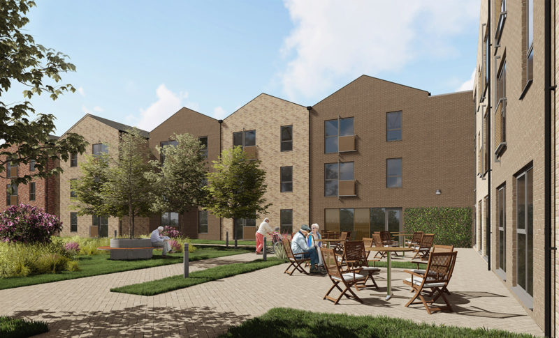 WBA; Housing; Architecture; Building; Design; Extra Care; Building; Winchester; Grimbsy